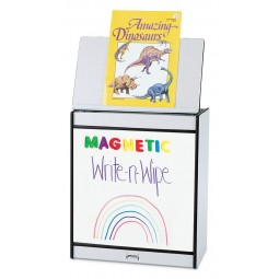 Jonti-Craft Rainbow Accents Big Book Easel - Magnetic Write-n-Wipe - Multiple Edge Colors