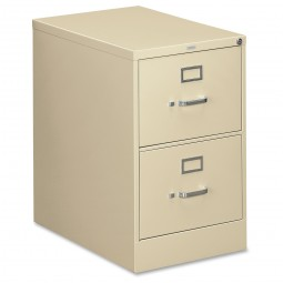 HON 310 Series 2-Drawer Vertical File, Legal, Putty