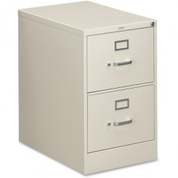 HON H310 Series 2-Drawer File, Vertical, Legal, Light Gray