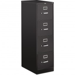 HON 510 Series Vertical Letter File, Black - 2 or 4 Drawer