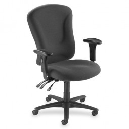 Lorell Accord Series Managerial Task Chair, Gray