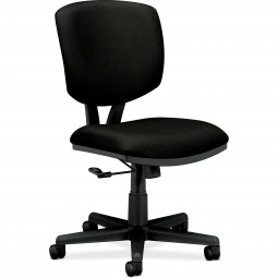 HON Task Chair, Tilt, Fabric, Black