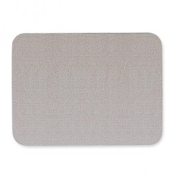 Quartet Oval Fabric Bulletin Board, 4' x 3', Gray