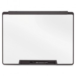 "Quartet Dry-Erase Board, Motion Cubicle, with Marker, 18"" x 24"", Black"