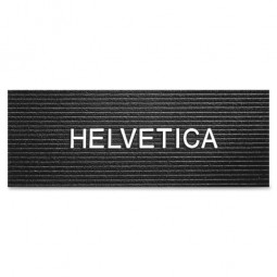 Quartet Felt Message Letters, Helvetica, 300/ST, White - Multiple options