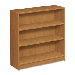 "HON 1870 Series 3-Shelf Bookcase, 36"" x 11½"" x 36⅛"", Harvest"