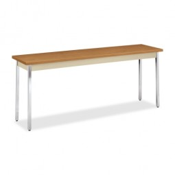 """HON Utility Table, 72"""", Harvest/Putty - Various Sizes"""