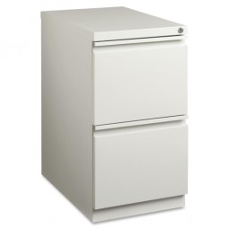 Lorell Mobile Pedestal Files, Files/Files, Full Extension, Light Gray - Multiple options