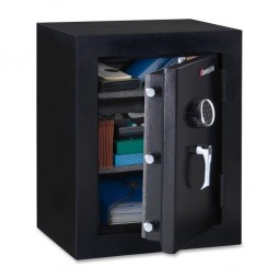 "Sentry Executive Fire Safe, 3.4 Cubic Feet, 21⁷⁄₁₀"" x 19"" x 27⅘"", Black"