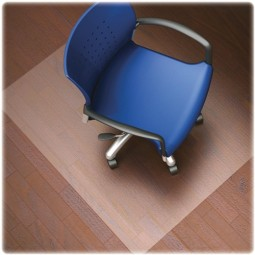 Lorell Hard Floor Chairmats, 60mm Thick, Clear - Multiple options