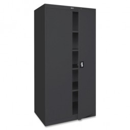 Lorell Steel Storage Cabinets, Black - Multiple options