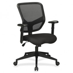 Lorell Executive MidBack Chair, Black