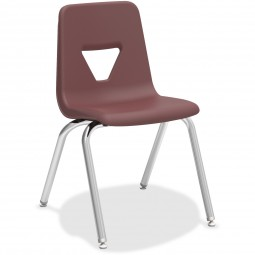 Student Stack Chairs - 4 Sizes & 5 Colors - Packs of 4