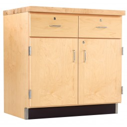 Solid Oak or Maple Wood Base Cabinet Door/Drawer, Top and Base Molding NOT Included