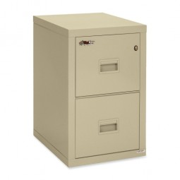 FireKing Insulated Turtle Vertical Letter File, 2 Drawer