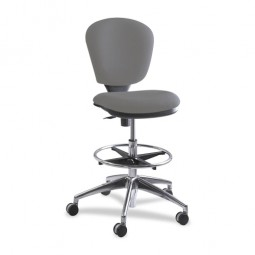 Safco Metro Extended Height Chair, Foot Ring - Various Colors
