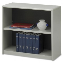 "Safco 2 Shelf Bookcase, 31¾"" x 13½"" x 28"" - Various Colors"