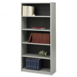 "Safco 5 Shelf Bookcase, 31¾"" x 13½"" x 67"" - Various Colors"