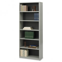 "Safco 6 Shelf Bookcase, 31¾"" x 13½"" x 80"" - Various Colors"