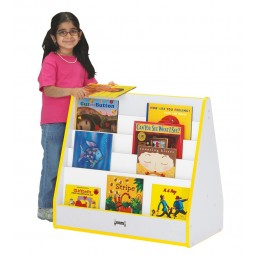 Jonti-Craft Rainbow Accents Pick-a-Book Stand - Multiple Edge Colors