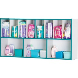 Jonti-Craft Rainbow Accents Diaper Organizer - Multiple Edge Colors