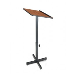 Oklahoma Sound Portable Presentation Lectern Stand - Select from 3 Finishes
