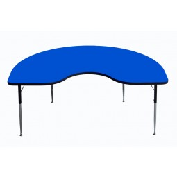 "F500 Series 48""x72"" Kidney Shape Activity Table"
