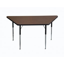"F500 Series 30""x30""x60"" Trapezoid Shape Activity Table"