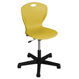 "Artcobell DP9A Discover D-Series Gas-Lift Swivel Chair 17½"" - 22"" Seat Height A Shell"