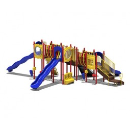 UPlayToday UPLAY-080-P Big Sky Play Structure for Ages 5-12