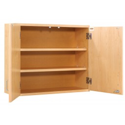 "Wall Storage Cabinet, 36""W X 30""H X 12""D - 2 Door Types"