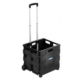 Hamilton Portable Crate with Extendable handle - EZCRATE