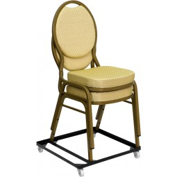 Signature Series Steel Stack Chair and Church Chair Dolly