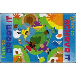 Dare to Dream Educational Rug