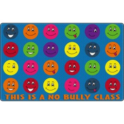 This is a No Bullying Class Educational Rug