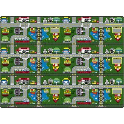 Places-To-Go Educational Rug