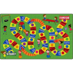 The Friendship Game Educational Rug