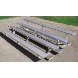 Tip 'N Roll Aluminum Bleachers - Choose Size - GT Grandstands NR Series