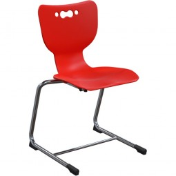 """18""""H Hierarchy Cantilever Chairs (5-pack) - Balt - 53218-5"""