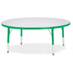 Jonti-Craft Berries® Round Activity Table - Select Size, Height and Color
