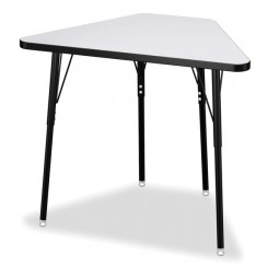 Tall Trapezoid Desk - Select Size, Height and Color