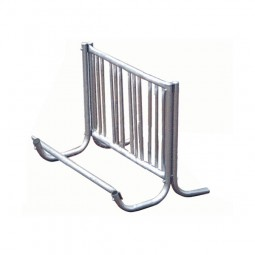 Galvanized Single-Sided J-Frame Bike Racks