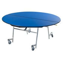 "AmTab MOV72 Mobile Oval Table 60""x72"""
