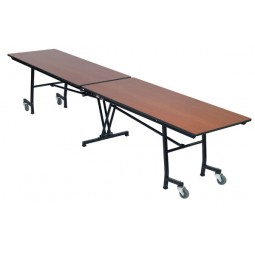 "AmTab MT1036 Mobile Rectangle Table 10'1"" x 36"""