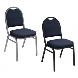 NPS 9200 Series Dome Stack Chairs - Choose Frame and Upholstery Colors