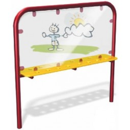 UPlayToday Paint & Play Playground Canvas - 2 Colors