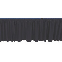 AmTab Stage Skirting - 1 Linear Foot - Choose Stage Height and Skirt Color