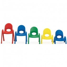 Angeles Value Stack™ Preschool Chairs - 5 Sizes in 4 Colors