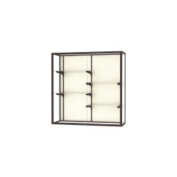 Waddell Champion Series 2040-4 4'W Wall Case - Multiple Options