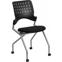 Galaxy Mobile Nesting Chair - Black Fabric
